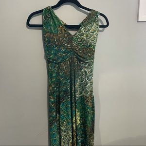 Nwt Charlie Paige Small summer maxi dress